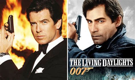 timothy dalton james bond a ha james bond pierce brosnan s screen test for the living