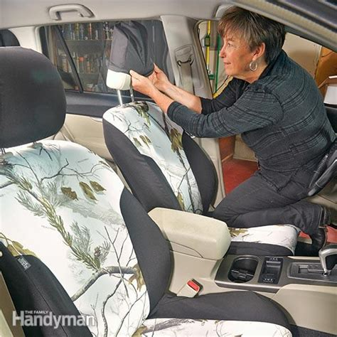 learn how to do car upholstery spruce up your car how to install seat covers family