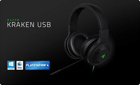 Headset Razer Kraken razer kraken usb essential surround sound gaming headset