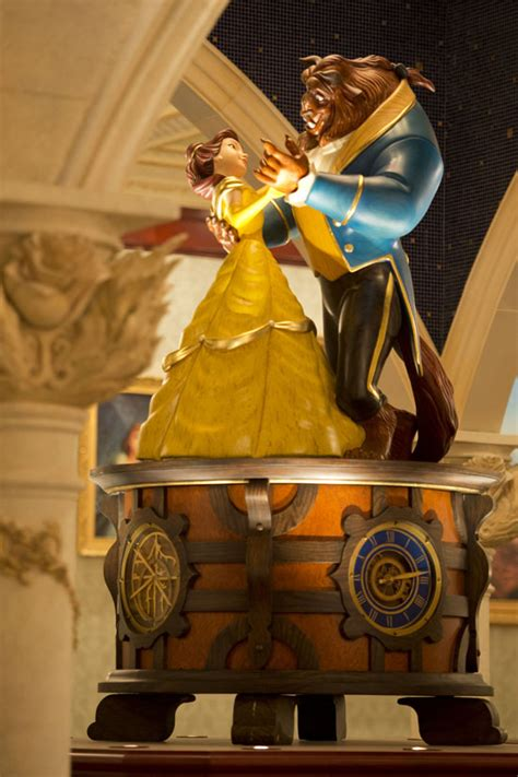 amazon com beauty and the beast music box relax wave video tour and photos be our guest restaurant west wing