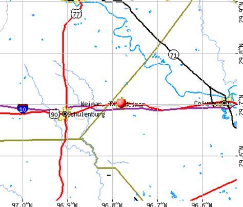 weimar texas map opiniones de weimar texas