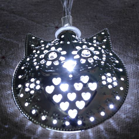 Owl Patio String Lights by 10led Owl String Mirror Light Outdoor Garden Home