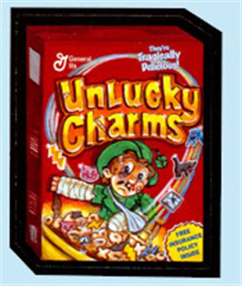 wacky packages ans2 unlucky charms