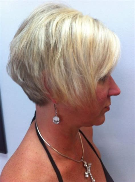 should thin hair wear stacked bob salon above by liza on twitter quot a stacked bob is great