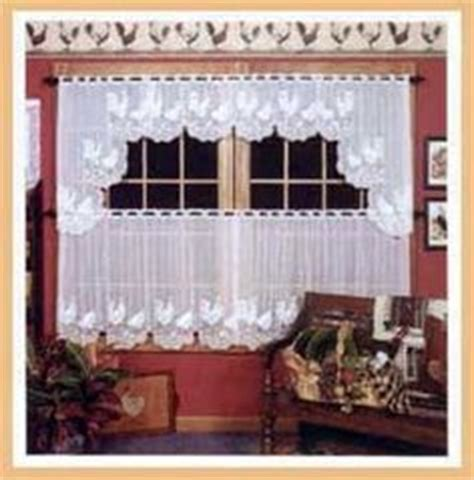 rooster lace curtains 1000 images about for my kitchen on pinterest rooster