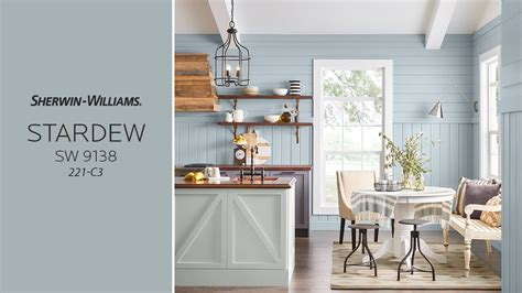 sherwin williams kitchen cabinet paint colors top 10 most stylish and inspirational stardew blue kitchens