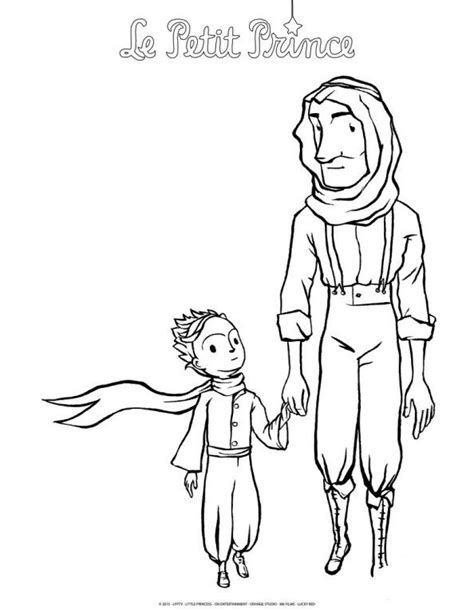 coloring page The little Prince   soto in 2019   Pinterest