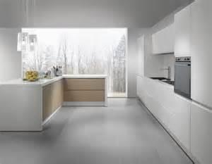 Modern wooden kitchens in stylish finish 187 white modern kitchen in