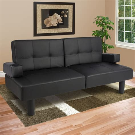 Sleeper Futon Sofa by Leather Faux Fold Futon Sofa Bed Sleeper