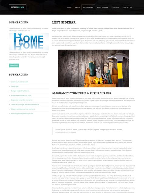 home repair sites home repair site template home renovation website templates dreamtemplate