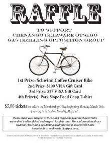 raffle poster templates psfc environmental committee psfc bicycle raffle