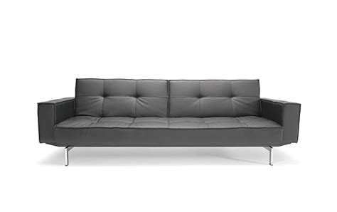 oz sofa bed oz deluxe sofa bed grey white microgrid by innovation