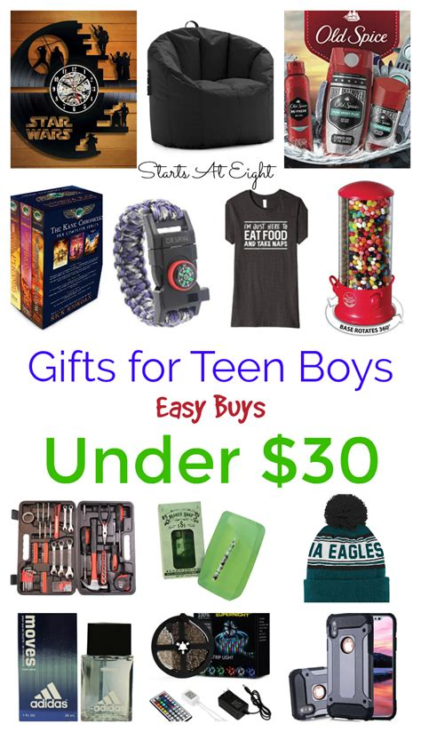 gifts for teen boys easy buys under 30 startsateight