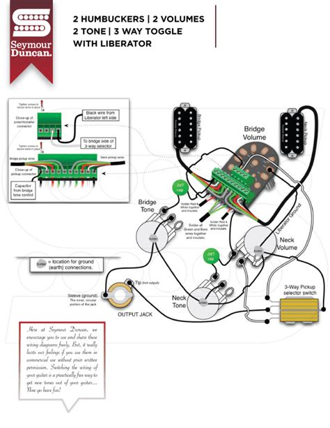 wiring diagrams seymour duncan part 12