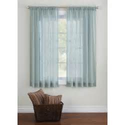 Sheer curtains for windows
