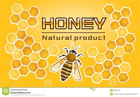 honey bee template 171 honey 187 label royalty free stock photography image 29851407