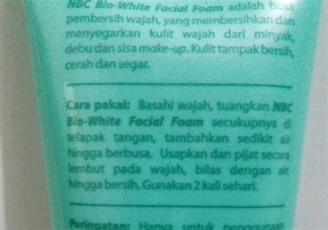 Pembersih Wajah Nourish nourish care foam whitening series yukcoba in