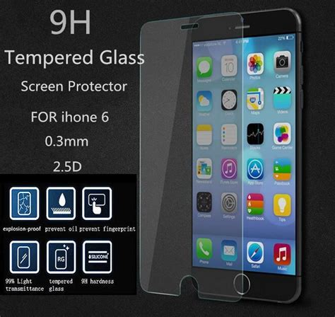 Produk Tempered Glass 9h Quality For Iphone 6g 6s Trend 9 for iphone 5s 0 26mm tempered glass for apple iphone 7