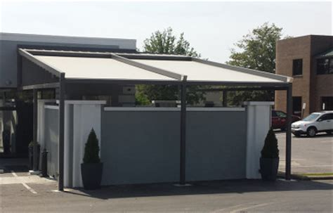 modern metal awnings maple leaf awning canvas we ve got you covered