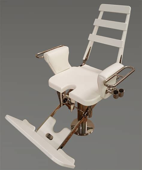 nautical design helm chair white polymer fighting chair by nautical design
