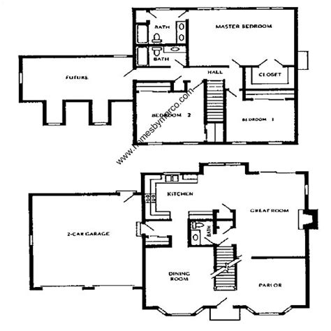 providence homes floor plans franklin model in the providence village subdivision in