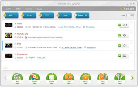 converter video free gratis convertidor de videos de freemake mp4 video converter