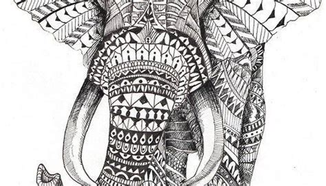 13 new elephant mandala endless tattoo designs