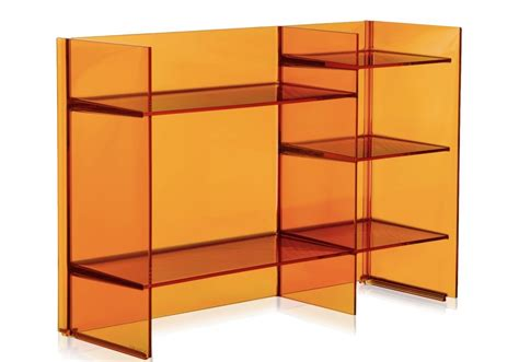kartell sound rack bookcase milia shop
