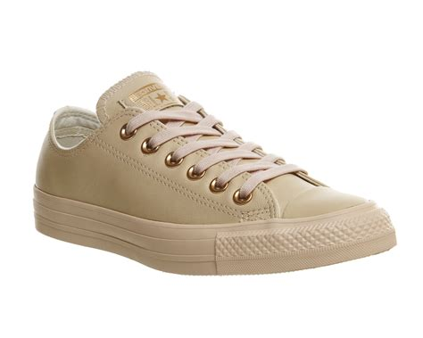 Converse Low Leather converse all low leather pastel gold