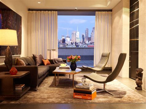 interior architecture new york penthouse by kna design