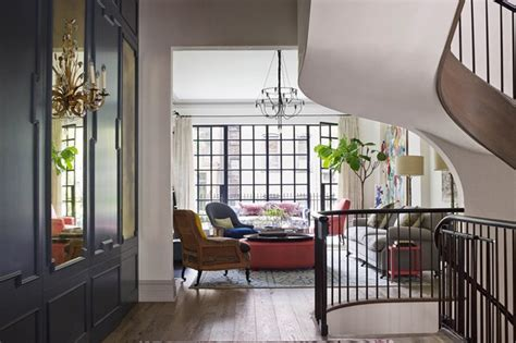 home interior design new york town house manhattan s west village real homes