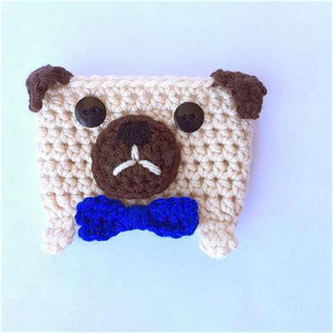 pug cozy shop crochet pugs on wanelo