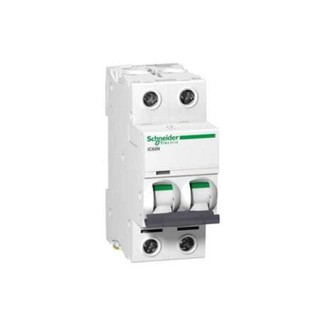 A9f74210 Mcb 2p 10a Ic60n Schneider mcb acti9 ic60n 2p 6a c curve 6ka minature circuit breaker circuit protection electrical
