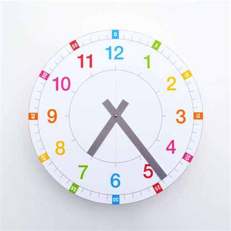 printable clock poster 8 creative clocks to help kids tell time