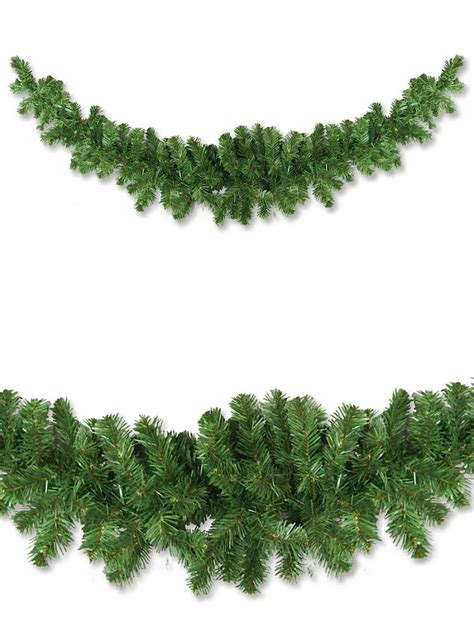 pine garland thin balsam pine swag garland 2 1m garlands wreaths