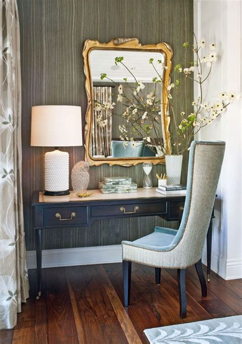 master bedroom vanity a desk from lawson fenning doubles as a vanity in this