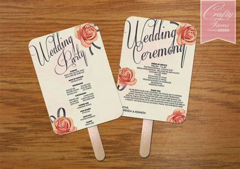 design your own church fans wedding card malaysia crafty farms handmade