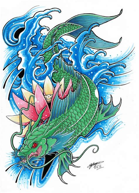 koi dragon sleeve tattoo designs 25 best ideas about koi on