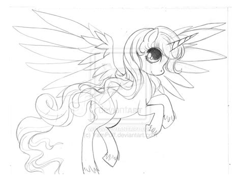 the gallery for gt alicorn coloring page