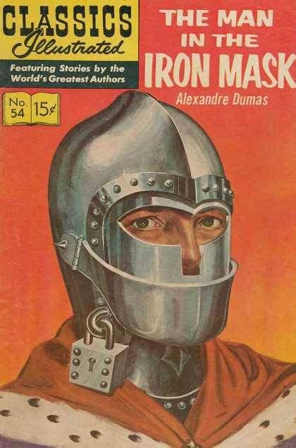 the iron man illustrated 1406329576 classics illustrated 54 the man in the iron mask issue