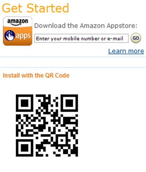 amazon qr code using qr codes to link customers directly to your apps