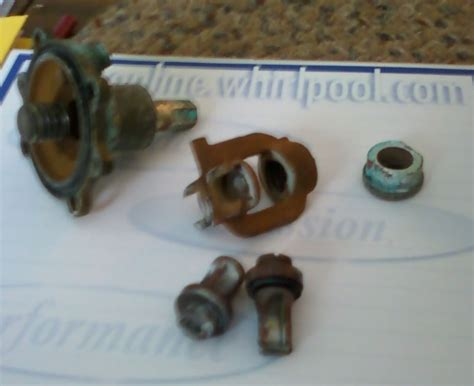 Kohler Faucets Replacement Parts Help Identification Shower Valve 30 40 Yrs Old