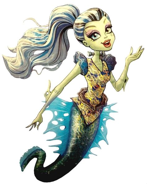 monster high coloring pages great scarrier reef frankie stein great scarrier reef glowsome ghoulfish