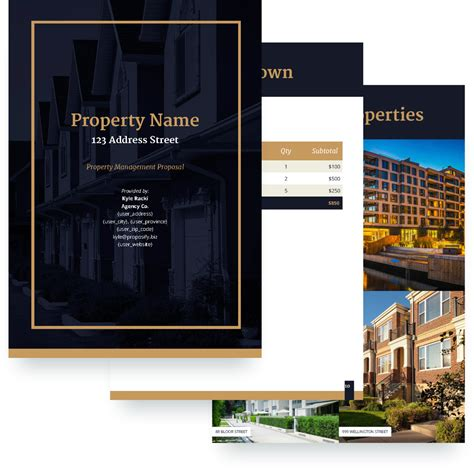 Property Management Proposal Template Free Sle Property Management Website Templates