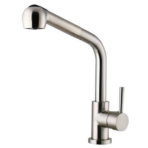 Kitchen Faucets Stainless Steel Pull Out Vigo Stainless Steel Wide Pull Out Spray Kitchen Faucet Kitchensource