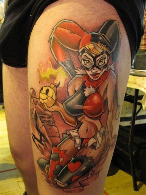 batman pin up tattoo pin up harley quinn tattoo mat lapping the best pin up