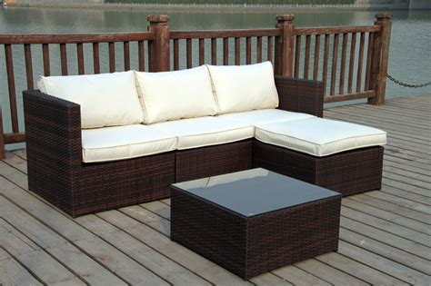 small wicker conservatory sofa new rattan wicker conservatory outdoor garden furniture