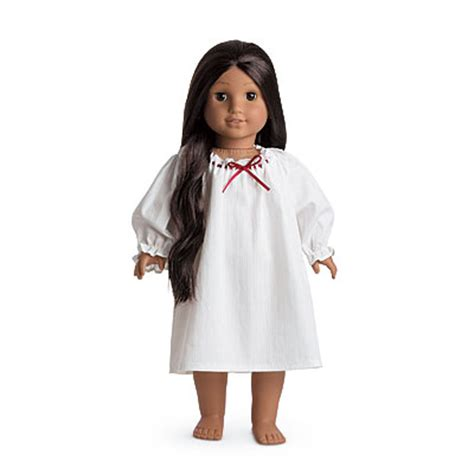 Where To Get American Girl Gift Cards - american girl josefina nightshift for 18 quot dolls white sleepwear gown pajamas ebay