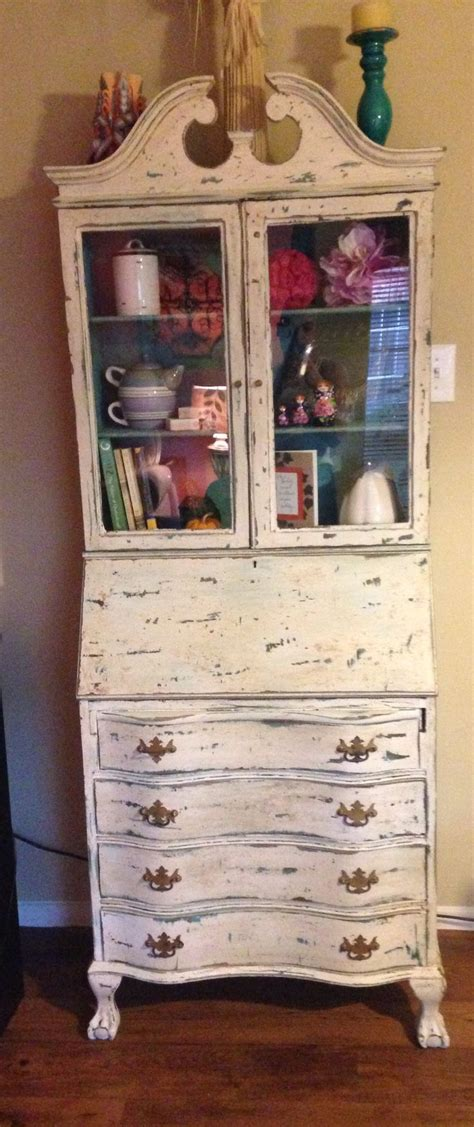 used secretary desk with hutch 17 best images about refurbished furniture on pinterest