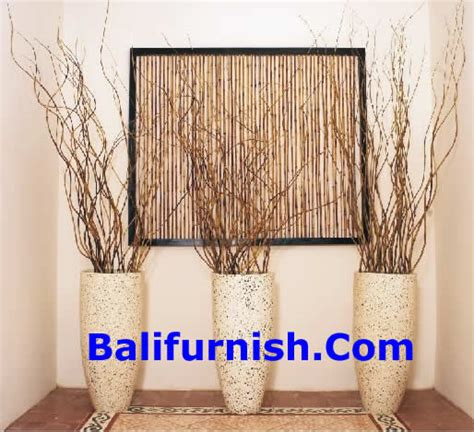 bamboo sticks home decor decorating with sticks and twigs leaves ribs palm